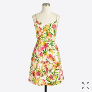 J. Crew Printed Seaside Cami Dress Sz 4